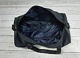Спортивная сумка бочонок Triumph Bag. Для тренировок, путешествий. Черная, фото 6