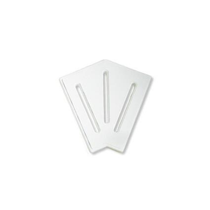 Aquaviva Угловой элемент AquaViva DK-20-2 Matt для переливной решетки 45° 190/25 мм (белый)