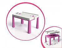 Детский пластиковый столик для детей 2 в 1 комплект для игры 04580/1/2/3/4 (Розовый)
