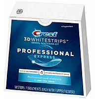 Crest Отбеливающие полоски для зубов профессиональный 3D Whitestrips Professional Express Teeth Whitening Kit