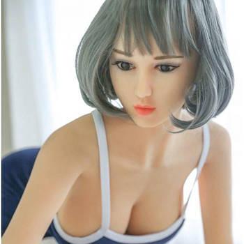 Сексуальная реалистичная кукла для секса 160 см с лицом NO.50
