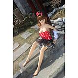 Реалистичная кукла для сексуальных игр Belle 125 см, фото 3