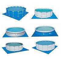 Подстилка для бассейнов, квадрат 488x488 см, Bestway 58003