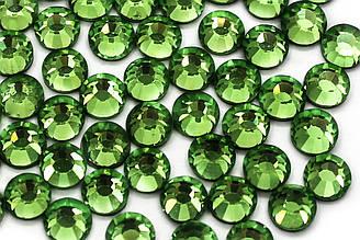 Cтразы DMC, ss20(5mm).Горячая фиксация.Цена за 1440шт, Цвет Fruit green (911)
