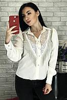 Блузка женская белая размер 42 1805, фото 1