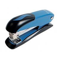 Степлер №24 / 6, 26/6 Economix, до 20 л., металлический корпус, синий E40238