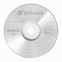 Диск , 4,7Gb, 16х, 120 min, Verbatim