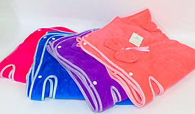 Женский халат - полотенце