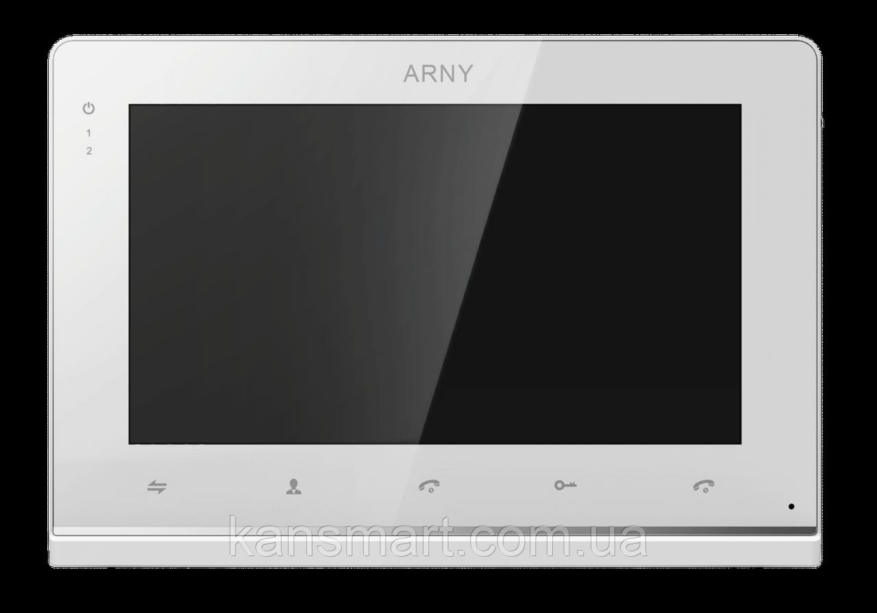 Видеодомофон ARNY AVD-710MD NEW White