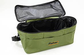 Сумка Fisher для принадлежностей на 3 отделения, фото 2