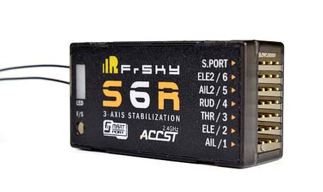 Приёмник 6к FrSky S6R с 3-осевой стабилизацией, фото 2