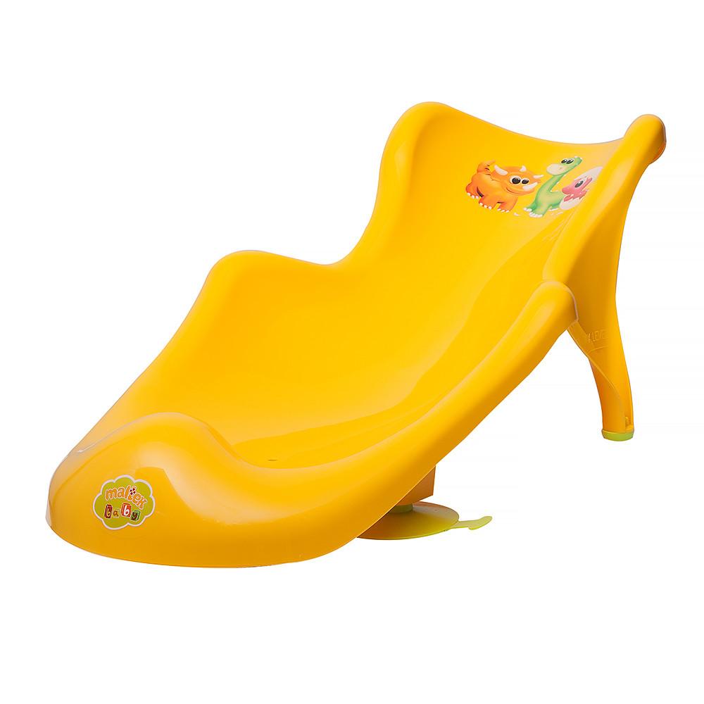 Гірка для купання Maltex DINO 6104 yellow