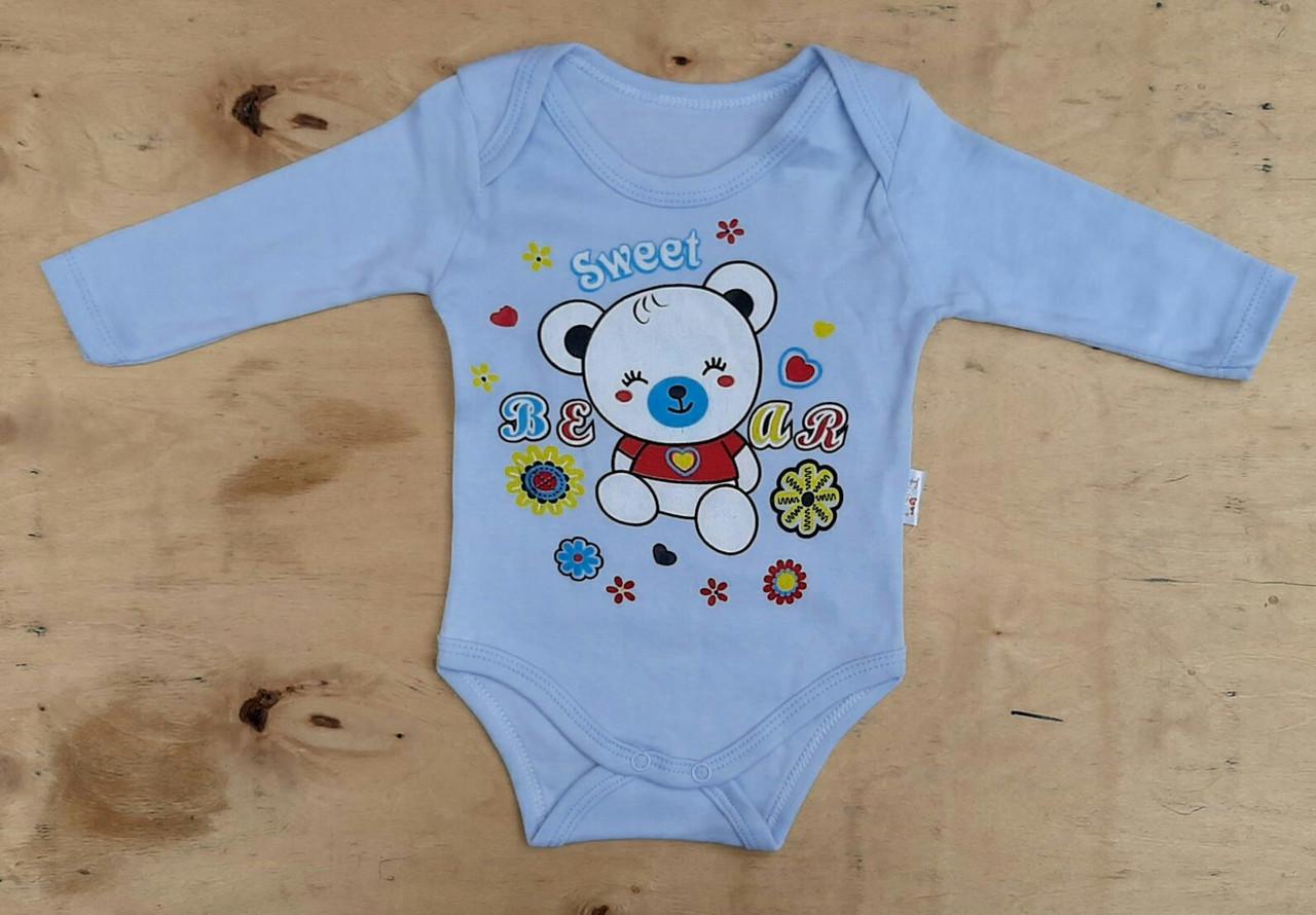 Детские боди 3-18 мес для новорожденных Турция оптом