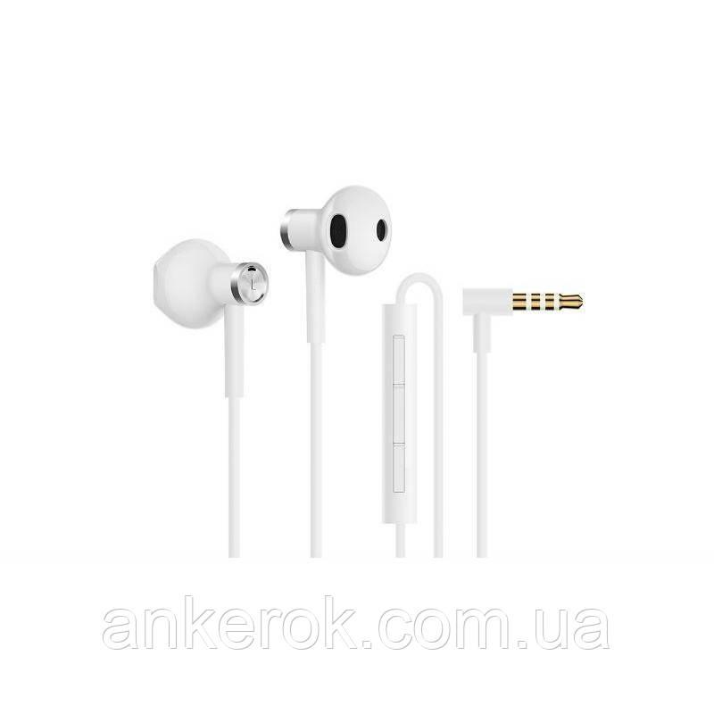 Навушники з мікрофоном Xiaomi Mi Dual Driver Earphones White (ZBW4406TY)