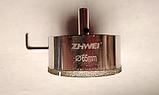 Коронка алмазная  по стеклу и керамике 65 мм с направляющей Zhwei, фото 2