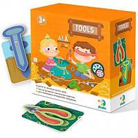 Тактильная игра DoDo Toys Инструменты (300204)