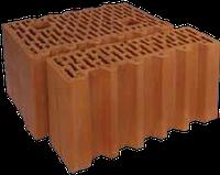 Блоки керамические Porotherm (Поротерм) 38 1/2 P+W половинка 380х124х238 мм., фото 1