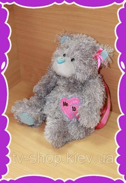 Рюкзак-игрушка Тедди Me to (cерый)