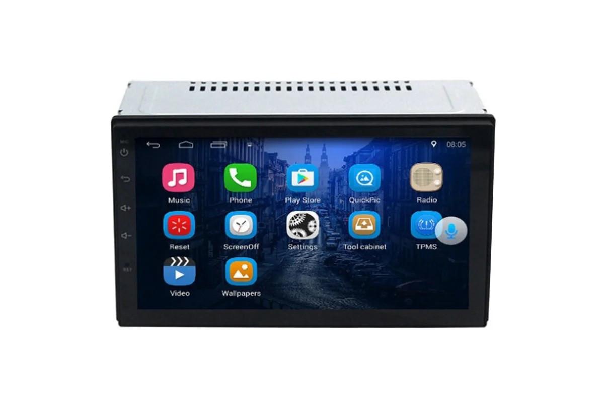 "Автомагнитола 2 дин Universal A7002-Z Android GPS 7"""