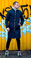 ХИТ 2020! Мужская Куртка, бомбер удлиненный. Весенний бомбер мужской, чоловіча куртка, стильный бомбер