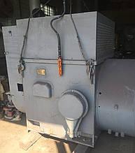 Электродвигатель електродвигун АОК 99/45-6 с фазным ротором 630 кВт 1000 об/мин, 6000 Вольт