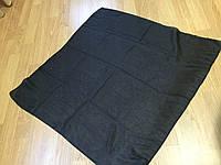 Платок, черные платки 73*73 см ритуальные