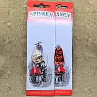 Блесна Spinnex Pike 8g silver/red