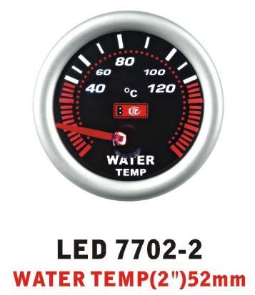 Температура воды 7702-2 LED стрелочный диаметр 52мм, фото 1