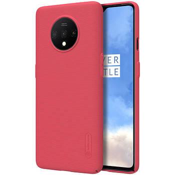 Чехол Nillkin Matte для OnePlus 7T Золотой Красный