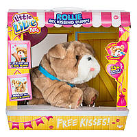 Интерактивная игрушка Little live pets My Kissing Puppy Ролли 28669 ТМ: Little live pets