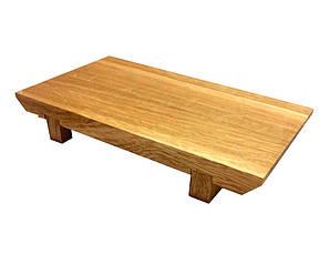 Доска для суши деревянная Гета 24х15х3 см