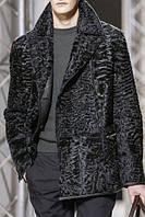 Мужской пиджак из меха свакары