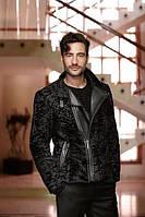 Куртка-косуха из свакары и кожи