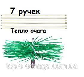 Приспособление для чистки дымохода (7 ручек,щетка)