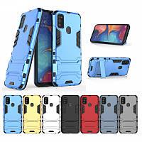 PC + TPU чехол Metal armor для Samsung Galaxy A71 2020 (7 цветов), фото 1
