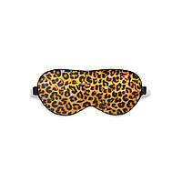 Маска для сна Love You Леопард, 100% Шёлк