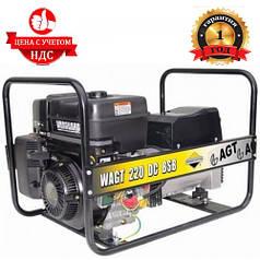 Бензиновый генератор сварочный AGT WAGT 220 DC BSB SE (3.5-5.2 кВТ. 220-380В)