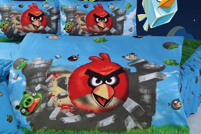 Детское постельное белье LOVE YOU TD-234 Angry Birds