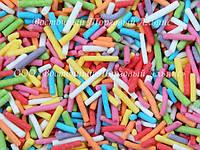 Посыпки кондитерские — Вермишель разноцветная микс 0,75 кг