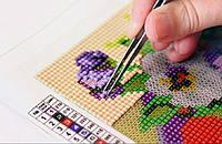 Наборы для рисования камнями: алмазная техника