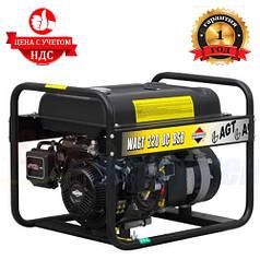 Бензиновый генератор сварочный AGT WAGT 220 DC BSBE R26 (6.5 кВТ. 380В)
