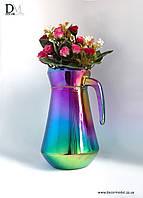 Металлизация посуды из стекла и керамики (хромирование, золочение)