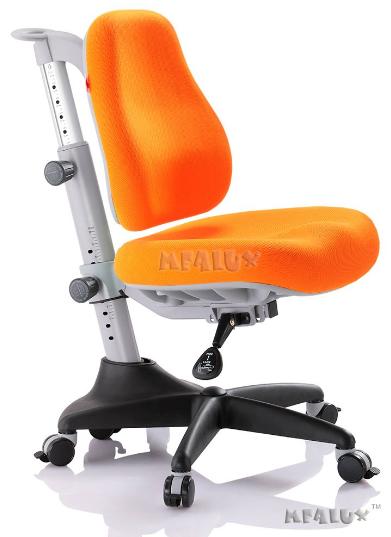 Кресло Mealux Match KY (арт.Y-527 KY) обивка оранжевая однотонная