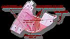 Многоразовый подгузник «Waterproof» от 0 до 6 месяцев., фото 7