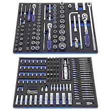 Набір інструменту для возів, 207 предметів ANDRMAX