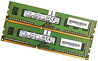 Пара оперативной памяти Samsung DDR3 8Gb (4Gb+4Gb) 1600MHz PC3 12800U 1R8 CL11 (M378B5173DB0-CK0) Б/У, фото 1