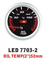 Температура масла 7703-2 LED (oil temp) стрелочный диам.52мм