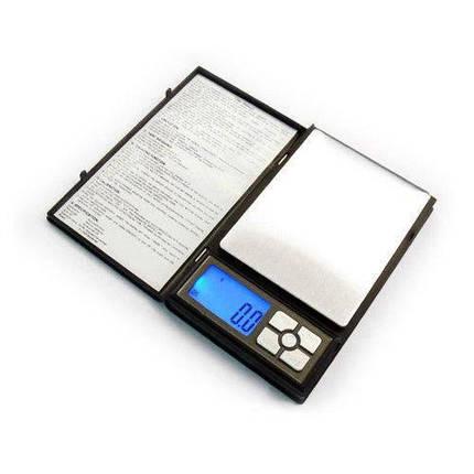 Ювелирные электронные весы книжка Notebook 0.01 до 500g, фото 2