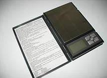 Ювелирные электронные весы книжка Notebook 0.01 до 500g, фото 3