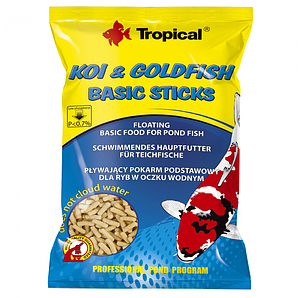 Корм для прудовых рыб Tropical Koi & Gold Basic ST. 21 л/1500 г